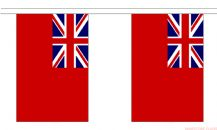 BRITISH RED ENSIGN BUNTING - 9 METRES 30 FLAGS